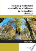 Mf1868_2   Técnicas Y Recursos De Animación En Actividades De Tiempo Libre