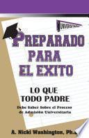 libro Preparado Para El Éxito:
