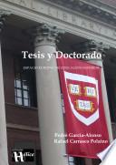 libro Tesis Y Doctorado.