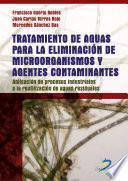 Tratamiento De Aguas Para La Eliminación De Microorganismos Y Agentes Contaminantes.