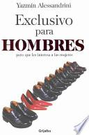 libro Exclusivo Para Hombres / Exclusive For Men