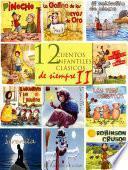 12 Cuentos Infantiles Clásicos De Siempre Ii