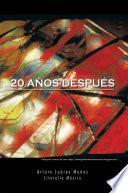 libro 20 AÑos DespuÉs
