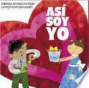 libro Así Soy Yo
