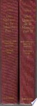 Cervantes, Volume 1