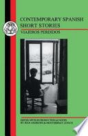 Contemporary Spanish Short Stories