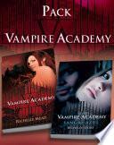 Pack Vampire Academy: Vampire Academy 1 + Vampire Academy 2. Sangre Azul