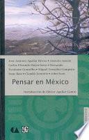 libro Pensar En México