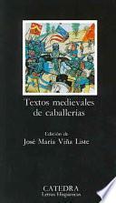 Textos Medievales De Caballerías