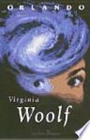 libro Virginia Woolf, Orlando