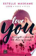 libro You 1. Love You (edición Mexicana)