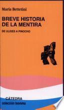 libro Breve Historia De La Mentira