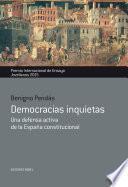 libro Democracias Inquietas