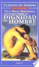 libro Discurso Sobre La Dignidad Del Hombre