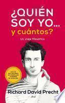 libro ¿quién Soy Yo Y...cuántos?