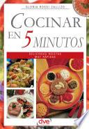 libro Cocinar En 5 Minutos