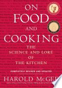 libro On Food And Cooking
