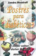 libro Postres Para Diabéticos