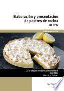 Uf1097   Elaboración Y Presentación De Postres De Cocina