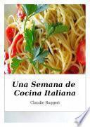 libro Una Semana De Cocina Italiana