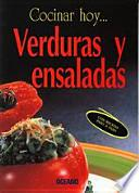 libro Verduras Y Ensaladas/ Vegetable And Salads