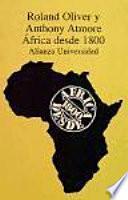 África Desde 1800
