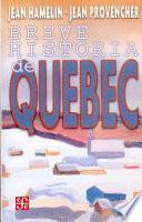 libro Breve Historia De Quebec
