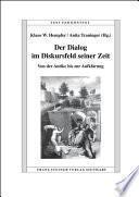 libro Der Dialog Im Diskursfeld Seiner Zeit