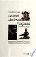libro Diccionario De Historia Moderna De España: La Administración