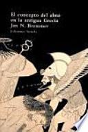 libro El Concepto Del Alma En La Antigua Grecia