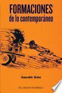 Formaciones De Lo Contemporáneo
