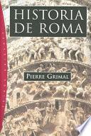 libro Historia De Roma