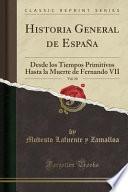 libro Historia General De España, Vol. 10