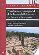 Protohistoria Y Antigüedad De La Península Ibérica