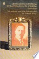 Revolución E Historia En La Obra De Luis Cabrera