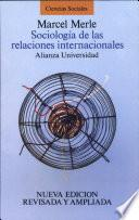 Sociología De Las Relaciones Internacionales