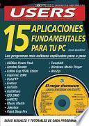 libro 15 Aplicaciones Fundamentales Para Tu Pc