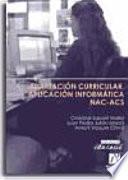libro Adaptación Curricular. Aplicación Informática Nac Acs