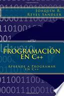 libro Aprende A Programar En C ++