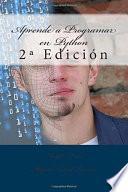 libro Aprende A Programar En Python
