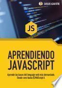 libro Aprendiendo Javascript