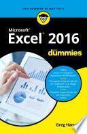 libro Excel 2016 Para Dummies