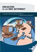 libro Iniciación A La Red De Internet