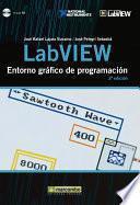 libro Labview: Entorno Gráfico De Programación