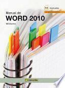 libro Manual De Word 2010