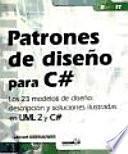 libro Patrones De Diseño Para C#