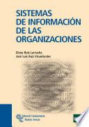 libro Sistemas De Información De Las Organizaciones