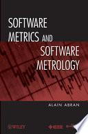 libro Software Metrics And Software Metrology