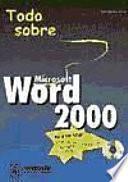 Todo Sobre Microsoft Word 2000