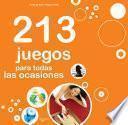 libro 213 Juegos Para Todas Las Ocasiones